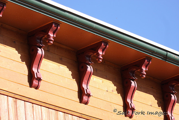 Details of the architecture at Grand Targhee.