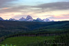 I shot this from the Pinochle Loop in far north Teton Valley at sunset.