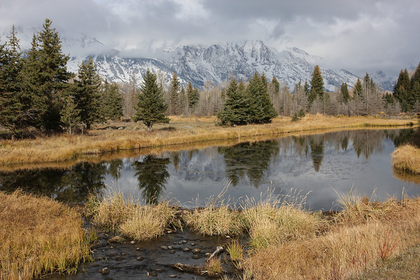 Grand Teton National Park - Wyoming - Schwabacher's Landing