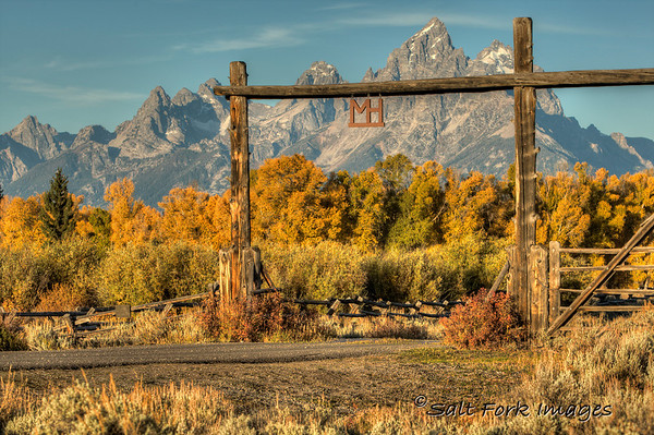 Welcome to the Moose Head Ranch.  Grand Teton National Park, Wyoming.