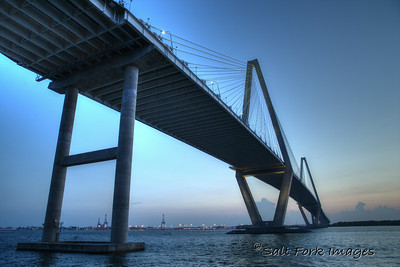 Arthur Ravenel, Jr. Bridge over the Cooper River - Charleston, South Carolina