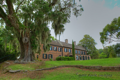 The house museum at Middleton Place Plantation