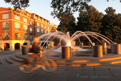 Fountain on the north end of Waterfront Park - Charleston, SC