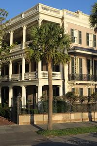 Houses along The Battery - Charleston, SC