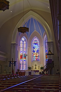 St. Matthews Lutheran Church in Charleston.  Beautiful.