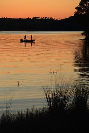 Sunset on Lake Hartwell - Clemson, South Carolina