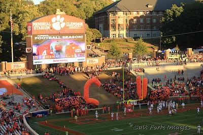 """The Hill""  Memorial Stadium - Clemson University"