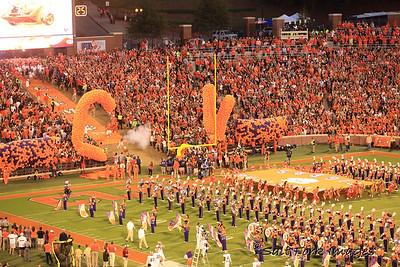 The 25 most exciting seconds in college football - Running down the hill at Clemson University's  Death Valley