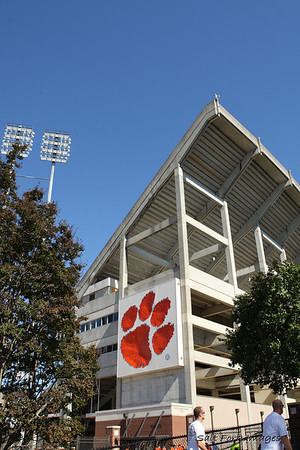 Memorial Stadium - Death Valley - Home of the Clemson Tigers and about 82,000 of their closest friends.