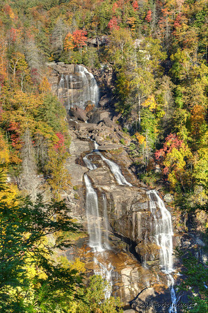 Whitewater Falls, North Carolina - 411 feet top to bottom!