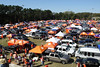 Tailgating is a big deal at Clemson.  This is one of about 20 areas with this many folks hanging out.  It's a little insane!