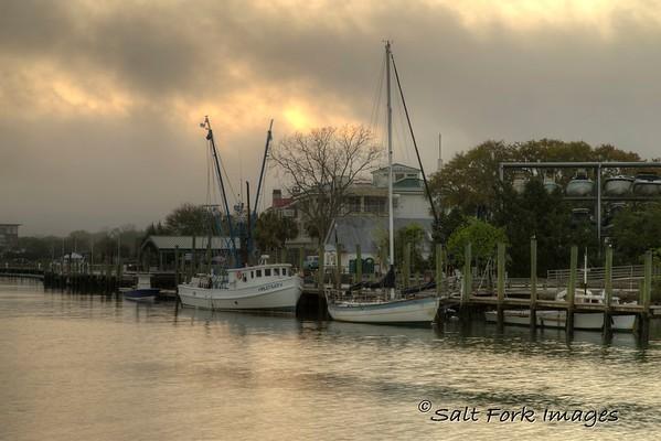 Sunrise at Shem Creek - Mt. Pleasant, South Carolina
