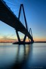 Ravenel Bridge over the Cooper River between Mount Pleasant and Charleston, South Carolina