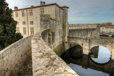 Aigues-Mortes - medieval town in southern France