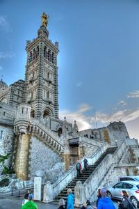 The Basilica of Notre Dame de la Gard - Marseille, France