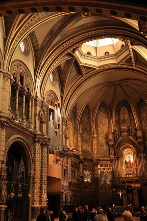 Monastery de Montserrat - near Barcelona, Spain