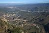 View from Montserrat - near Barcelona, Spain