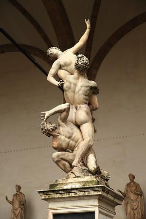 The Rape of the Sabine Women - 1582