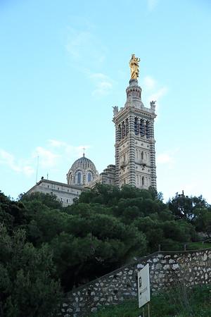 Notre Dame de la Gard - Marseille, France