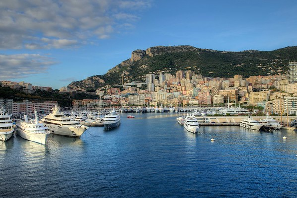 Harbor at Monte Carlo, Monaco