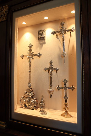 Relics and all kinds of old stuff in the Vatican