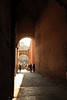 Passageway into the Roman Colosseum