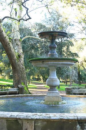 Villa Borghese Park - Rome, Italy
