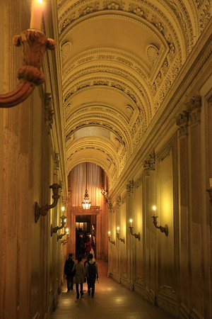 Passageway in the Vatican from Sistine Chapel to St. Peter's Basilica