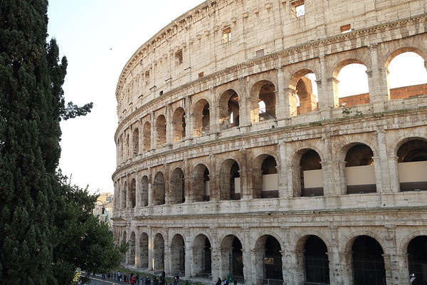 Roman Colosseum - Completed in 80 AD - Rome, Italy