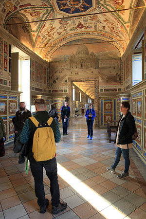 On a tour of the Vatican