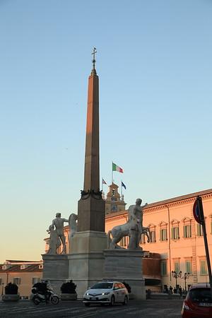 A random monument in Rome