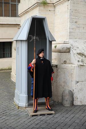 Swiss Guard at the Vatican