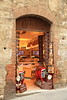 One of many small shops in San Gimignano, Italy