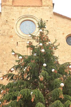 Christmastime in San Gimignano, Italy