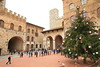 Town square in San Gimignano, Italy