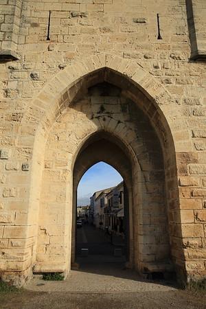 Outside the city wall - Aigues-Mortes, France