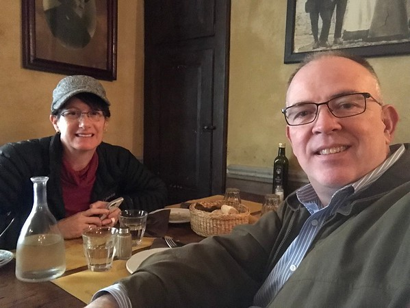 Lunch in Florence, Italy