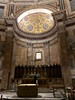 Altar in the Pantheon - originally built as a temple for a Roman god but later converted to a Catholic church.
