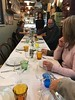 Eating family style in a Mom and Pop Restaurant in Rome