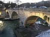 Tiber River in Rome, Italy