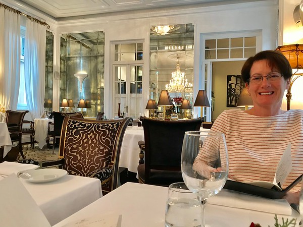 Lunch at the Majestic Hotel - Rome, Italy