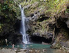 Upper Falls at Twin Falls. A very popular spot for swimming!