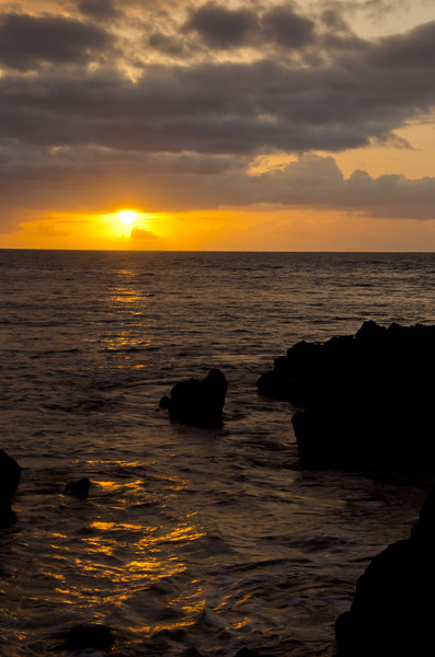 Sunset at Makena