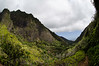 Looking back towards Kahului on the IAO trail
