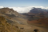 Haleakala Caldera,  elevation 10,000 feet