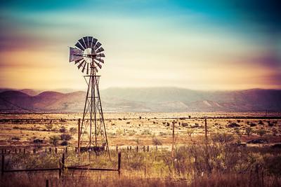 West Texas Windmill