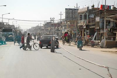 Main Street in Imphal, Manipur  Nikon D70