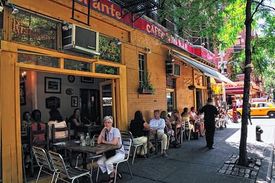 An Italian Cafe in Greenwich Village