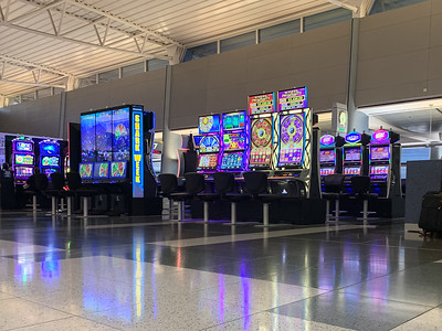 Gamble at the Gate - Las Vegas Airport
