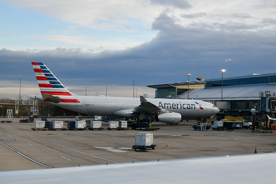 On the ground at Philadelphia Airport